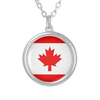 Vertical Canadian Flag Pendant