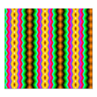 Vertical colorful line pattern photo