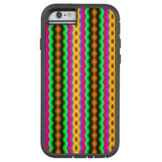 Vertical colorful line pattern tough xtreme iPhone 6 case