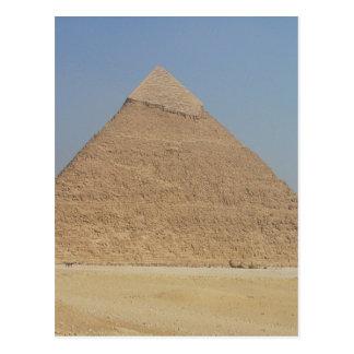 vertical de la pirámide de los khafre postal