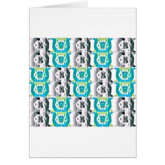 Vertical de lujo de la postal tarjeta de felicitación