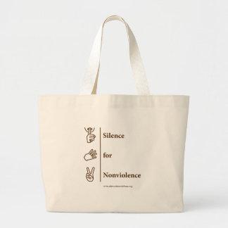 Vertical Design Brown Bag