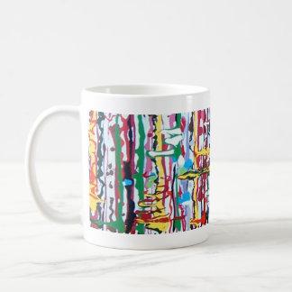Vertical drip coffee mug