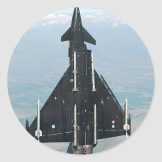 VERTICAL FLIGHT ROUND STICKERS