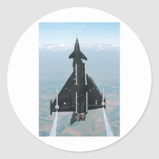 VERTICAL FLIGHT ROUND STICKER