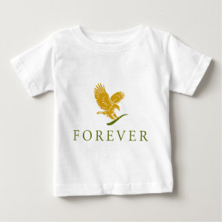 Vertical FOREVER Feathered.png Baby T-Shirt