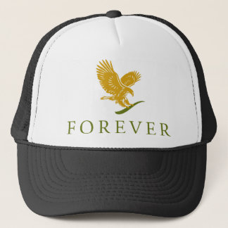 Vertical FOREVER Feathered.png Trucker Hat