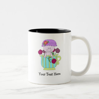 Vertical Home Template Two-Tone Coffee Mug
