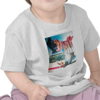 Vertical infantil de la camiseta de Jambo Kenia Ha