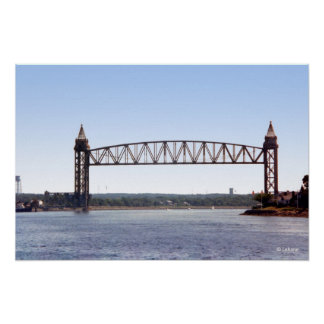 Vertical Lift Bridge Photo Poster