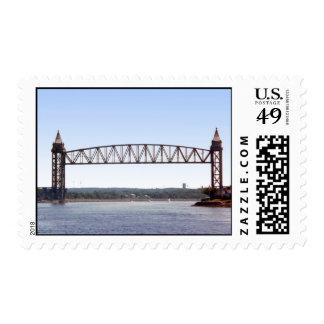 Vertical Lift Railroad Bridge, postage