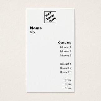 Vertical Logo Classic 2 Business Card