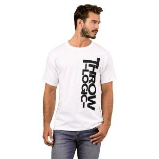 Vertical Logo White T-Shirt