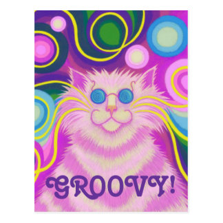 """vertical """"maravillosa"""" rosada de la postal del Psy"""