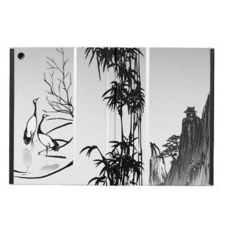 Vertical Oriental Scroll iPad Air Case
