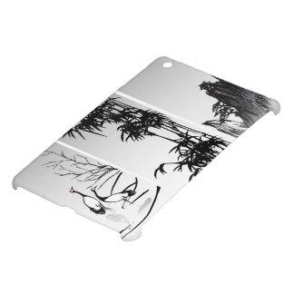 Vertical Oriental Scroll iPad Mini Case