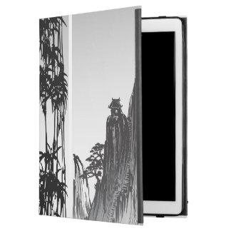 Vertical Oriental Scroll iPad Pro Case