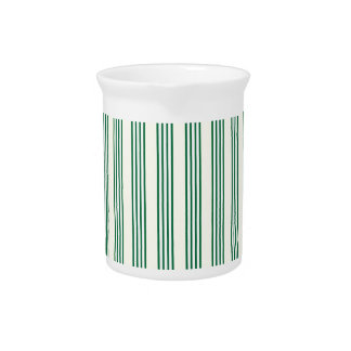 vertical parallel lines background green stripes drink pitchers