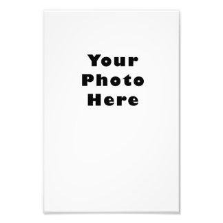 Vertical Photo Print