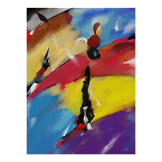 """Vertical poster large model """"Abstract 1508 """""""