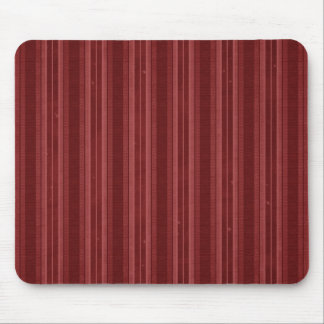 Vertical Red Stripes Mouse Pads