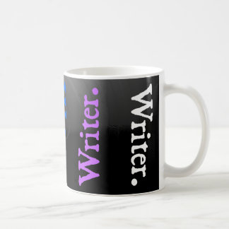 Vertical Reversal Colorsplash Writer. Classic White Coffee Mug