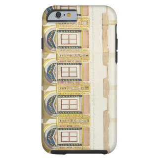 Vertical section of the second floor of the Raphae Tough iPhone 6 Case