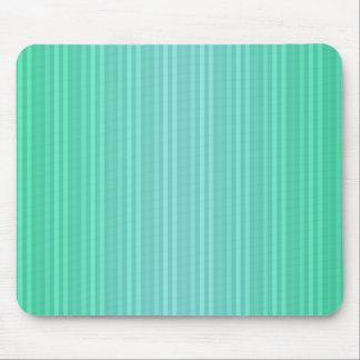 Vertical Stripes Aquamarine Blue Green Teal Mouse Pad