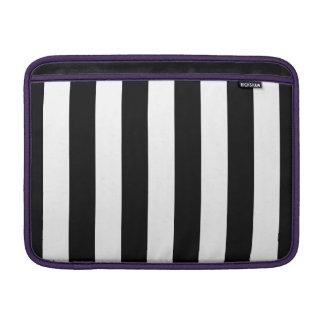 """Vertical Stripes Macbook Air 13"""" Horizontal Sleeve"""