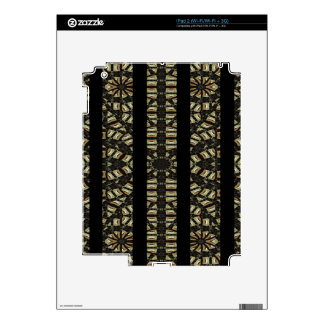 Vertical Stripes Tribal Print Decal For iPad 2