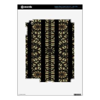 Vertical Stripes Tribal Print iPad 3 Decals