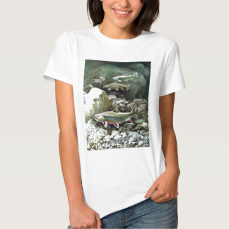 Vertical T-Shirt Trout