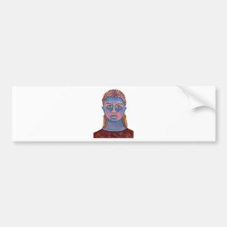 Vertical Template Bumper Sticker