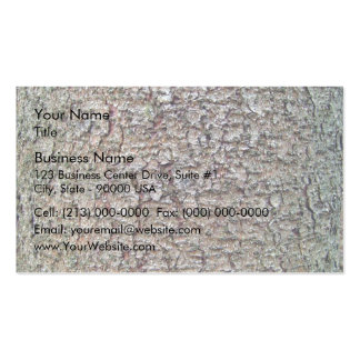 Vertical texture of tree bark business card