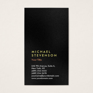 Vertical Trendy Grey Color Modern Professional Business Card