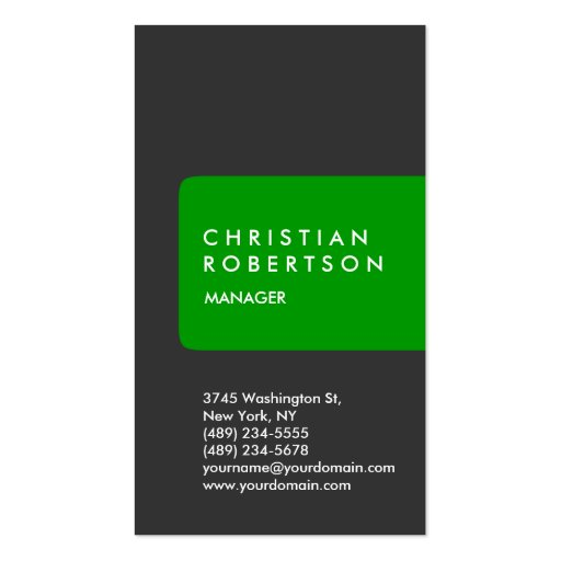 Vertical trendy standard custom made business card for Cheep business cards