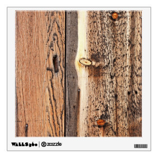 Vertical Wood Surface Wall Decal