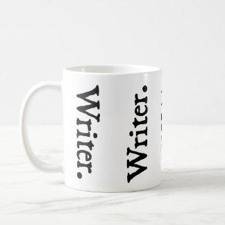 Vertical Writer. Classic White Coffee Mug