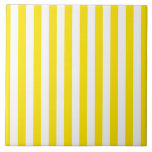 """Vertical Yellow Stripes Tile<br><div class=""""desc"""">Be sure to check out all options to customize your selection!  For example,  the white in the design may be changed to a different color!  Thanks for looking!</div>"""