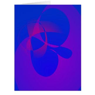 Verticalmente azul