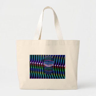 Verticle in the glass ball large tote bag