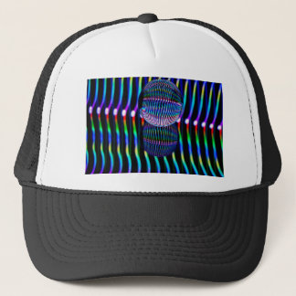 Verticle in the glass ball trucker hat