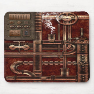 Verticle Mouse Pad. Steampunk Design. Mouse Pad