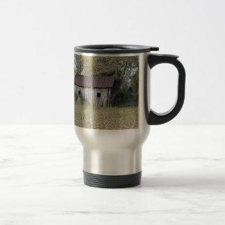 vertiente abandonada taza de café