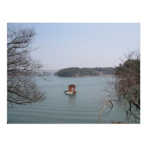 Vertiente en el lago postal