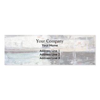 Vertientes de los Twachtman-Pescados de Juan, Glou Plantilla De Tarjeta De Negocio