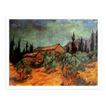 Vertientes de madera, Vincent van Gogh Postales