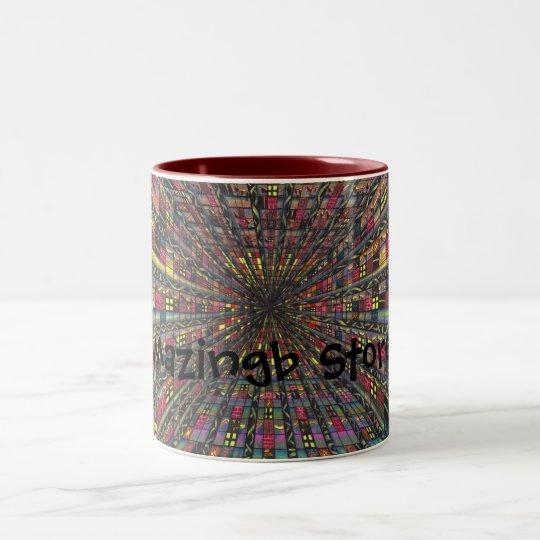 Vertigo Chamber Two-Tone Coffee Mug