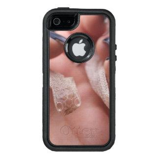 Vertimiento de la primera vez de la serpiente funda otterbox para iPhone 5/5s/SE