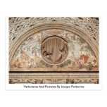 Vertumnus And Pomona By Jacopo Pontormo Postcard